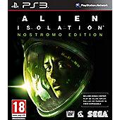 Alien Isolation: Nostromo Edition (PS3)