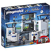 PLAYMOBIL POLICE HEADQUARTERS WITH PRISO