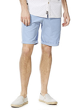 F&F Chino Shorts - Pale blue