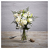 Finest Christmas Rose & Lily Bouquet