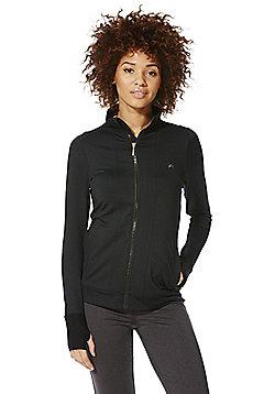 F&F Active Premium Zip-Through Jacket - Black