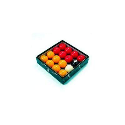 Aramith Premier 2'' Red & Yellow Pool Ball Set