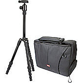Sunpak TravelLite 60 Aluminum Tripod with Camera Bag