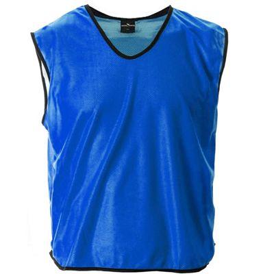 Mesh Football Rugby Sports Training Tank Top Sports Bib Blue - XS/S