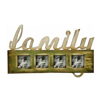 Family Quad Photo Frame