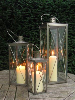 Highwayman lantern - 53cm tall