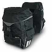 Basil Sports Double Rear Bag Water Repellent Black 38L