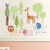 Zoo Babies Children's Wall Stickers