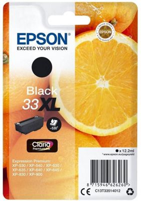 Epson Claria Premium 33XL Ink Cartridge C13T33514012