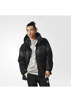 adidas Originals Mens ID96 Wool Down Winter Jacket - Black