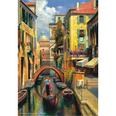 Sunday In Venice - 500pc Puzzle