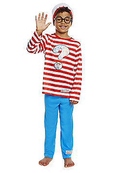 Where's Wally? Dress-Up Costume - Red & Multi