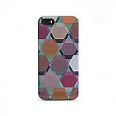 Tucano Brio Hexa Cover Multicolour Pink Phone case for Apple iPhone 5 -