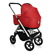 Easywalker Mosey 2 in 1 Pram - London Red