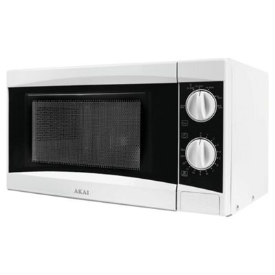 Akai Solo Microwave A24001 20L, White