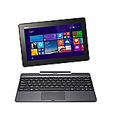 "Certified Refurbished ASUS T100TAF Transformer Book 10.1"" 2 in 1 Tablet Intel Atom Z3735F 2GB 32GB Windows 8.1"