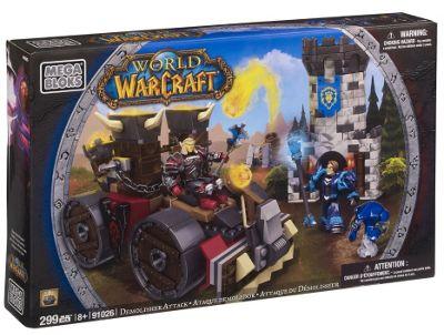 Mega Bloks World of Warcraft Demolisher Attack
