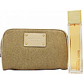 Michael Kors Sexy Amber Gift Set 100ml EDP + Pouch For Women