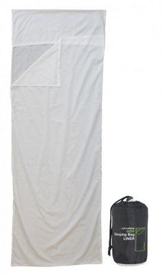Single Poly Cotton Envelope Sleeping Bag Liner + FREE carry bag
