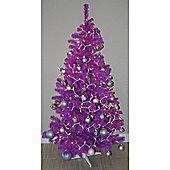 Homegear 6Ft Artificial Purple Christmas Xmas Tree