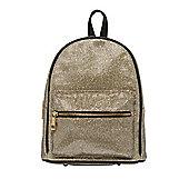 F&F Metallic Mini Rucksack