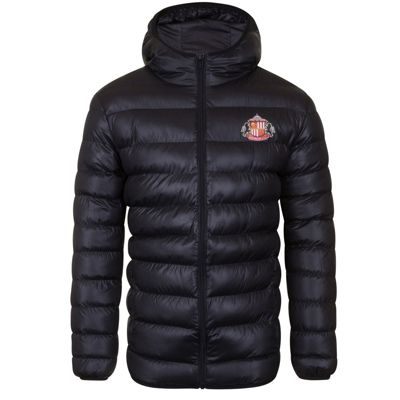 Sunderland AFC Mens Quilted Jacket Small