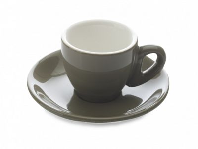 Maxwell & Williams Cafe Culture Cachi Espresso Cup and Saucer 0.7L