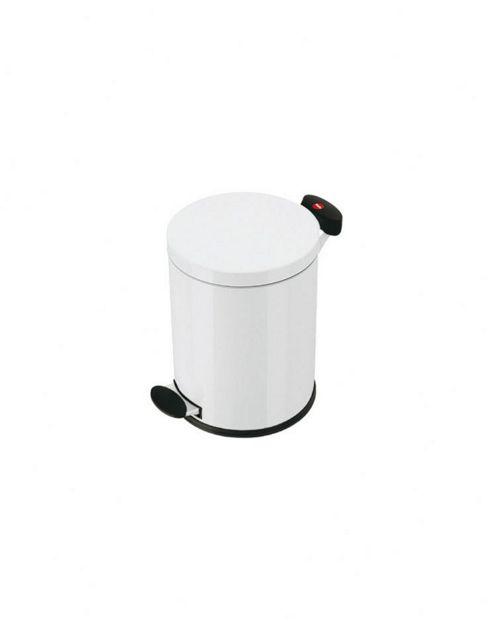 Hailo Pedal Bin - 14 Litres, White