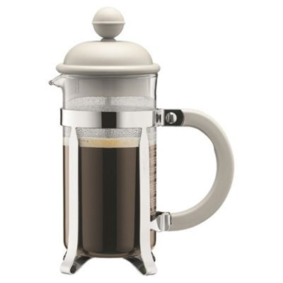 Bodum Caffettiera Cafetiere - 3 Cup - Off White