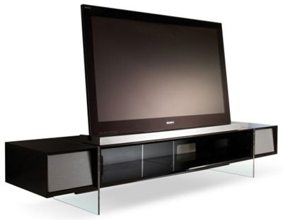 Alphason Yatai Series Black TV Stand For Up To 55 inch