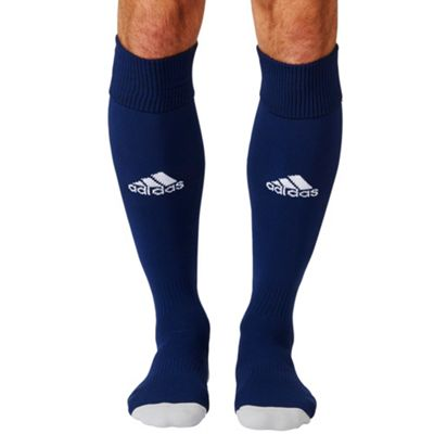 adidas Milano 16 Football Soccer Rugby Sport Socks Navy Blue - UK 6.5-8