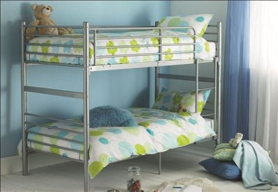 Buy Hyder Seattle Bunk Bed Frame Not Included White From Our