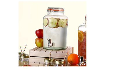 Kilner Clip Top 8L Drinks Dispenser