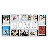 White Multiple Home Photo Frame