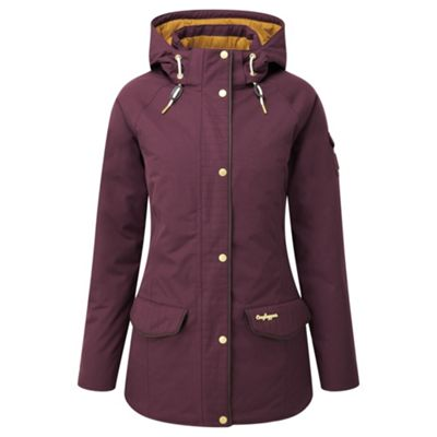 Craghoppers Ladies 250 Jacket Dark Rioja Red 10