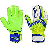 Reusch Serathor Pro G2 Negative Cut Goalkeeper Gloves Size - Blue
