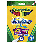 Crayola Supertips 12 Pack