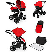 ickle bubba Stomp V2 All-in-One Travel System (Red)