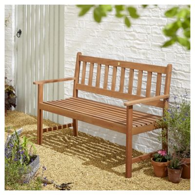 Garden Bench. Kingsbury Wooden 2 Seater Garden Bench
