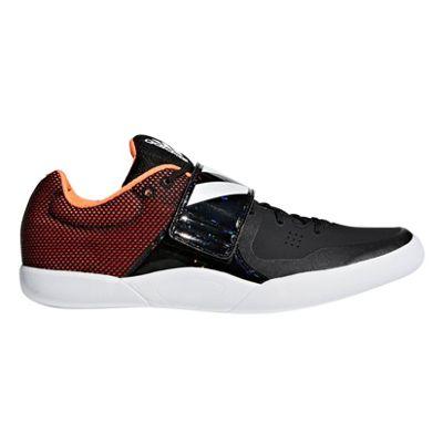 adidas adizero Discus Hammer Track & Field Throwing Spike Shoe Black - UK 5.5