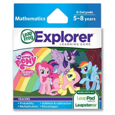 LeapFrog® Explorer™  Learning Game: Hasbro My Little Pony Friendship is Magic