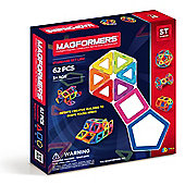 Magformers 62 Magnetic Toy Set - Educational Toys