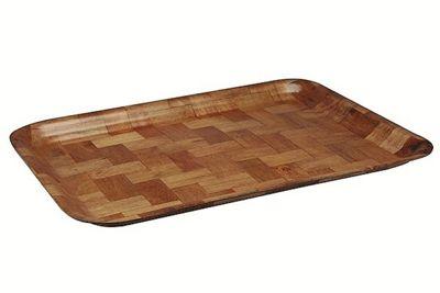 Apollo Woven Wood Tray, 48cm x 33cm