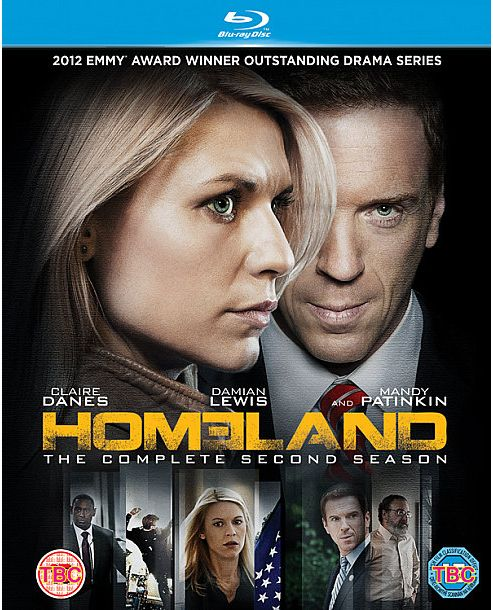 Homeland Season 2 - Blu-Ray