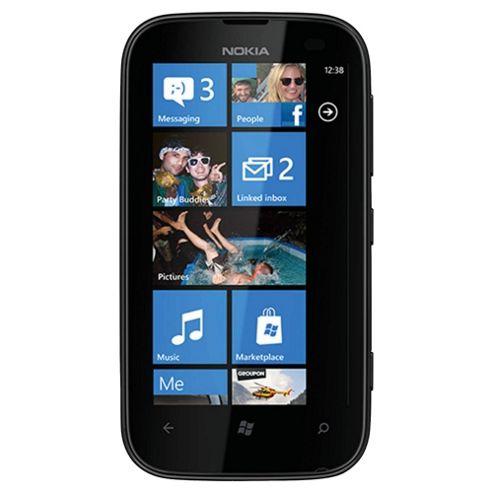 Tesco Mobile Nokia Lumia 510 Yellow