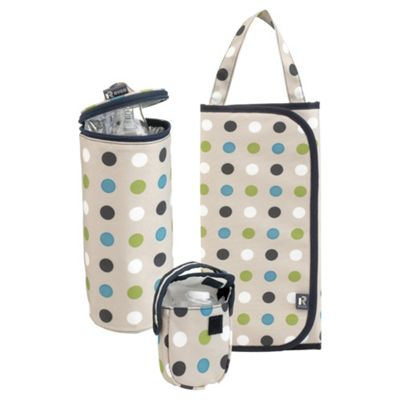 Ryco Baby Travel Set Three Piece Spot design