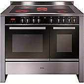 CDA RV1061SS 100 CM Electric Double Stainless steel