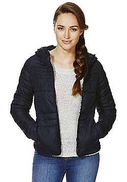 Only Padded Hooded Jacket - Navy