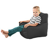 Toddler Armchair Beanbag - Grey