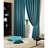 Alan Symonds Madison Pencil Pleat Curtains - Teal